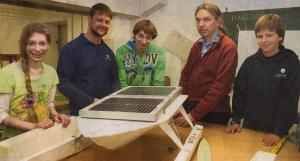 Das Team der Club Solarie (v.l. Greta Scholz, Marco Dittrich, Jens Ole Winters, Jens Wartenberg, Thies Frontius
